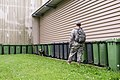 Military working dog and handler practice explosives detection 140729-A-BD610-009.jpg
