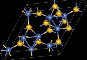 Millerite - Millerite structure