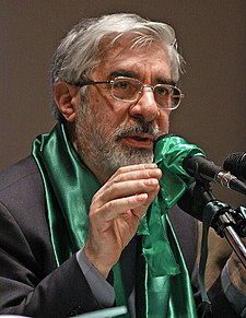Mousavi isnt a saint but hes all the opposition in Irans got.