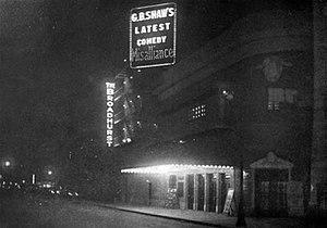 Broadhurst Theatre - George Bernard Shaw's Misalliance at the Broadhurst Theatre (1917)