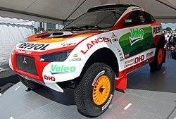 Mitsubishi Racing Lancer at 2008 Tokyo Auto Salon