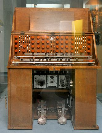 Analog synthesizer - Trautonium, 1928