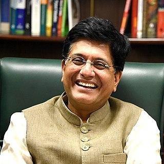 Piyush Goyal Indian politician