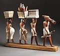 Model of a procession of offering bearers MET DP344084.jpg