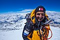 Moe Al Thani at the summit of Mount Everest.jpg