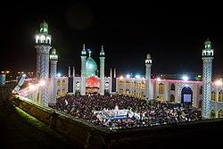 مراسم شب قدر در امامزاده هلال ابن علی آران و بیدگل