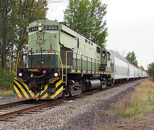 Mohawk, Adirondack and Northern Railroad - Image: Mohawk Adirondack and Northern train