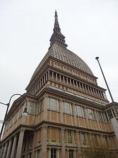 Mole Antonelliana major landmark building in Turin, Italy