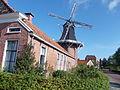 Molenaarswoning Dijkstra met molen in Winschoten.jpg