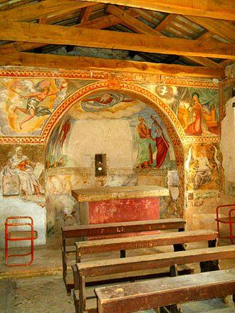 Višnjan - Bačva: church of St. Jakob