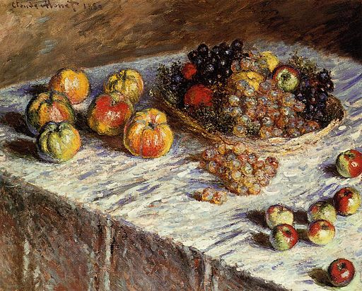Monet-Still-Life-with-Apples-and-Grapes-1880