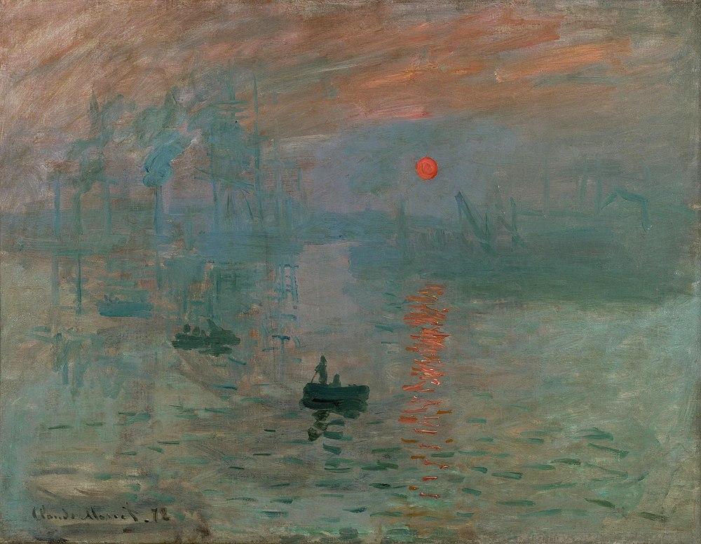 manet impression sunrise