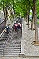 Montmartre stairs, Paris 26 May 2014.jpg