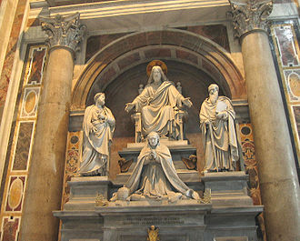 Pope Pius VIII - Monument in Saint Peter's Basilica.