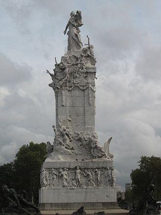 Argentina Centennial - Image: Monumento de los Españoles