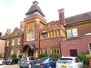 Moor Hall House, now a hotel, in Birmingham, England
