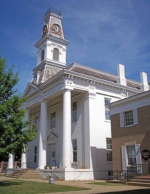 McConnelsville, Ohio - The Morgan County Courthouse in 2007
