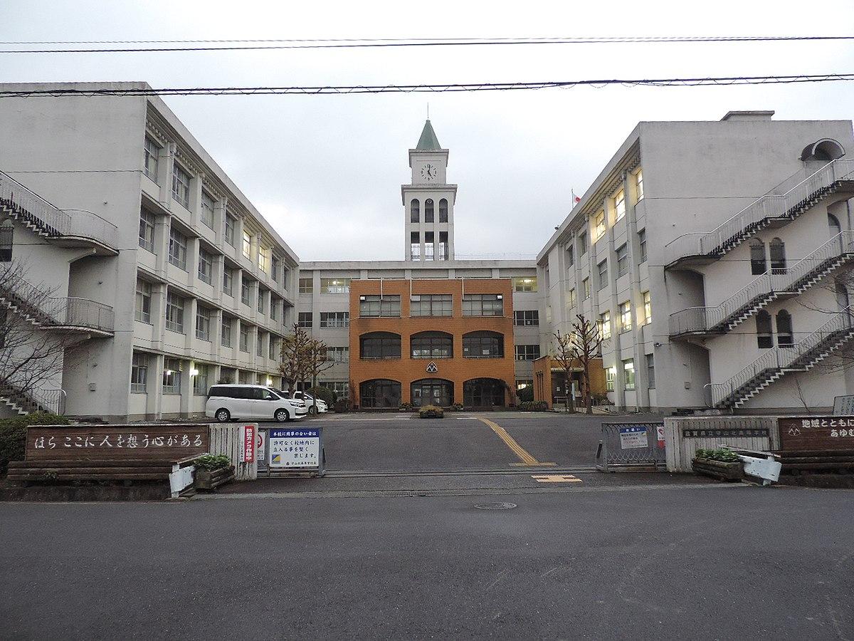 守山北高等学校画像