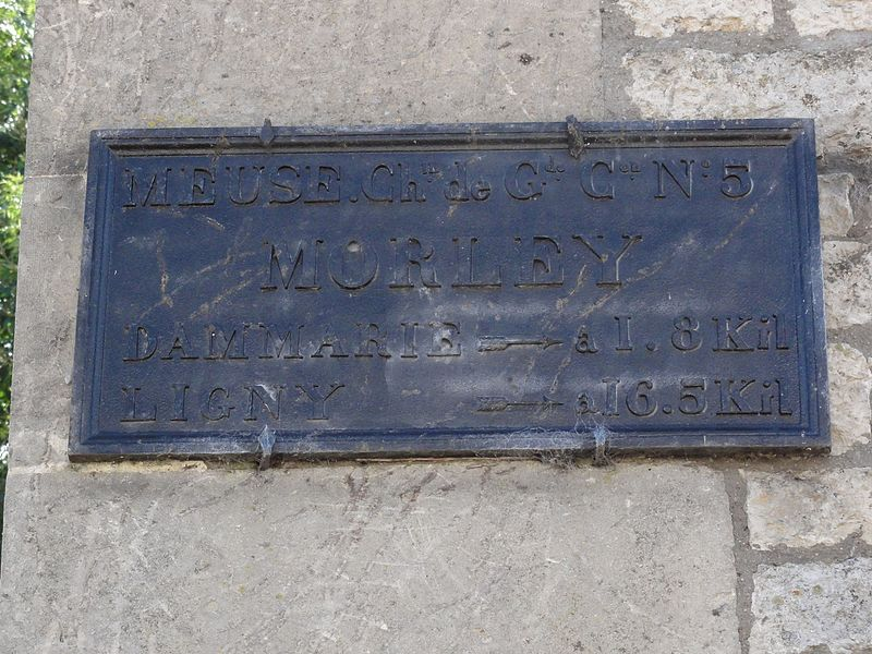 Morley (Meuse) plaque de cocher