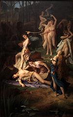 Orpheus' death