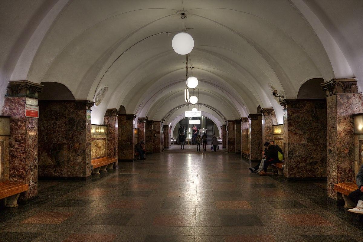 Первые фото вестибюля ст метро динамо