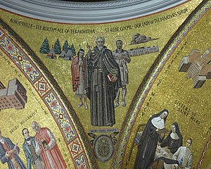 Isaac Jogues - Mosaic of St. Isaac Jogues in the Cathedral Basilica of St. Louis