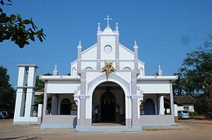 Ambrose Madtha - Old church structure where Ambrose Madtha used to go for masses. Coincidentally Ambrose Madtha killed in road accident on the same day when this church structure was demolished.