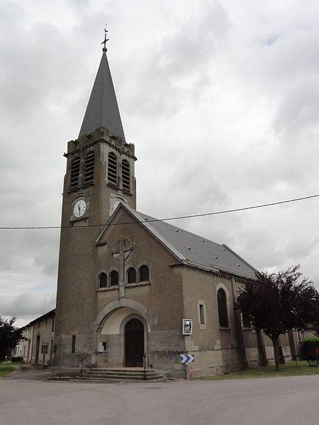Mouacourt (M-et-M) église