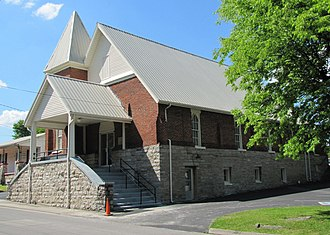 National Register of Historic Places listings in Lincoln County, Tennessee - Image: Mount Zion Missionary Baptist tn 1