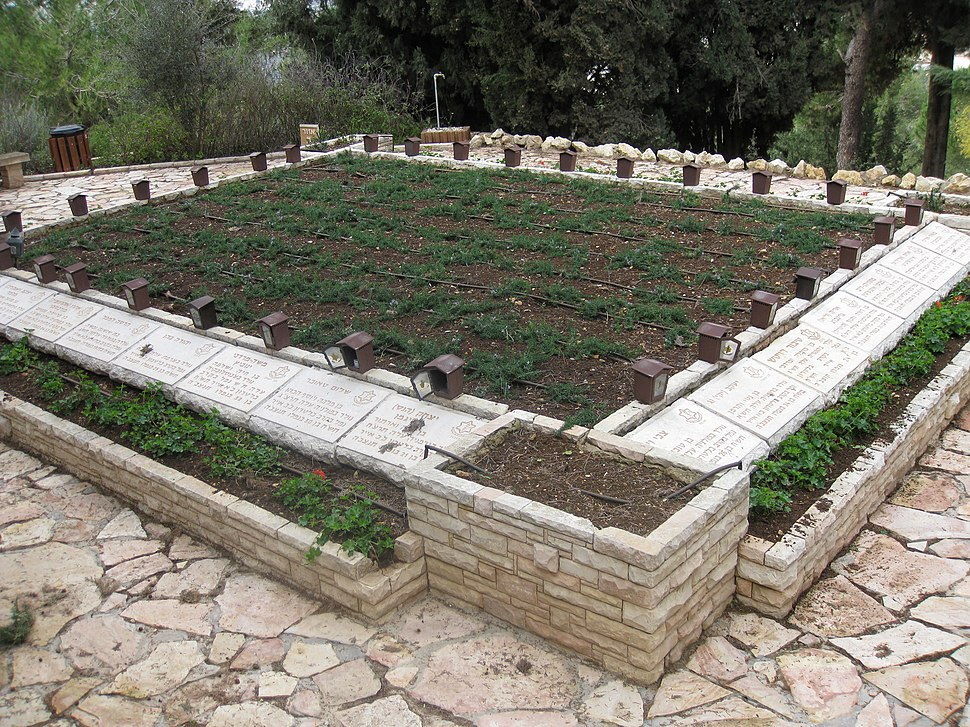 Mount Herzl - Independence War Plot IMG 1286