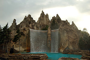 Amusement park - Wonder Mountain at Canada's Wonderland