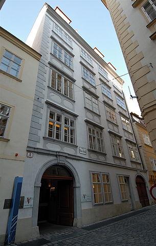 Дом-музей Моцарта на Домгассе 5. Квартира Моцарта находилась на втором этаже