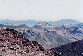 Mt Tongariro from Mt Ngauruhoe 1981.jpg