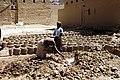 Mud brick production in Tarim Hadhramaut Yemen.jpg