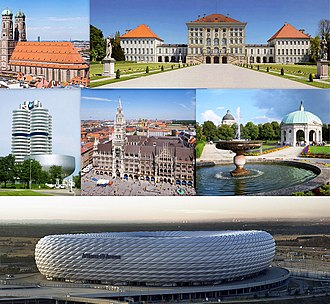 Munich - Image: Munchen collage