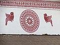 Mural painting at Sri Mookambika Temple, Kollur.jpg