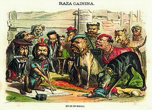 Carlism - Satire was used in attempts to discredit the opposition, whether Liberal or Royalist (Carlist)