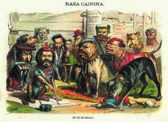 Museo Zumalakarregi Exposición El siglo XIX en caricaturas