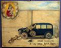 Museo bernareggi, collezione di ex-voto, ciclista investito da auto, 1928.JPG