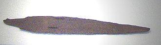 Anitta - Bronze dagger of king Anitta