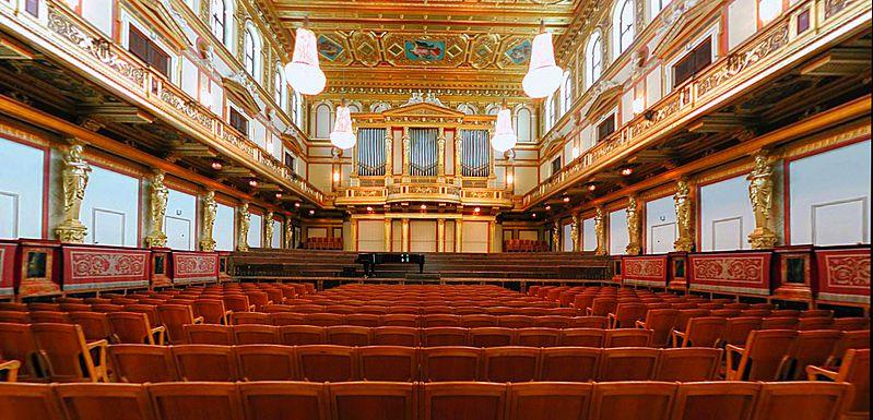 Goldener Saal (Sala Dorada) del Musikverein