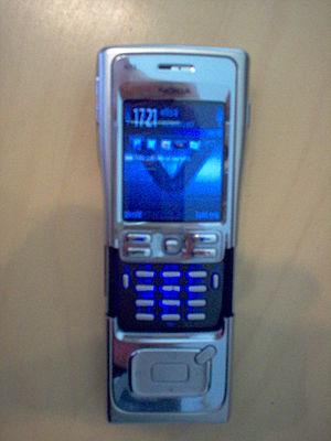 Nokia N91 - Image: N91