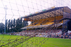 The former NAC stadium in the Beatrixstraat, Breda, 1995
