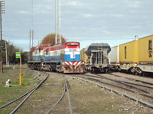 Railway privatisation in Argentina - Nuevo Central Argentino took over Mitre Railway.
