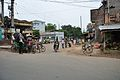 NH 2B and Local Road Junction - Gukara New Town - Bardhaman 2014-06-28 5148.JPG