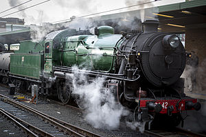 NSWGR 3642 during 2014 Great Train Race at Sydney Central Station.jpg