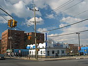 A White Castle in Queens, New York.