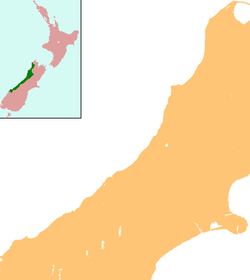 Greymouth is located in West Coast