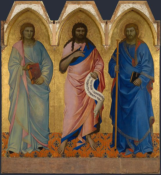 NARDO DI CIONE Three Saints about 1363-5