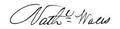 Nathaniel Wales signature.png